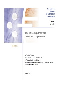 Discussion Papers in Economic Behaviour