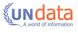 UNdata - sistema de acceso a bases de datos estadísitcas de la ONU