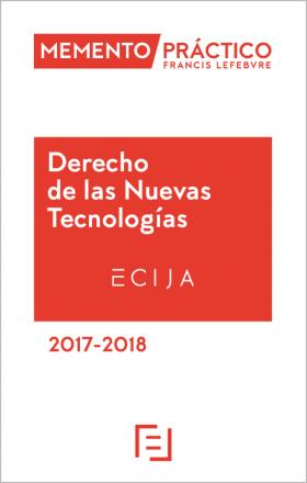 Memento Derecho de las Nuevas Tecnologías